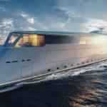Электроводородная мега-яхта Aqua от Sinot Yacht Design & Architecture